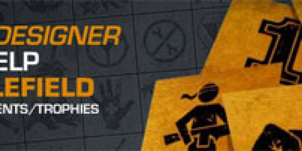Diseña un logro o trofeo para Battlefield: Bad Company 2