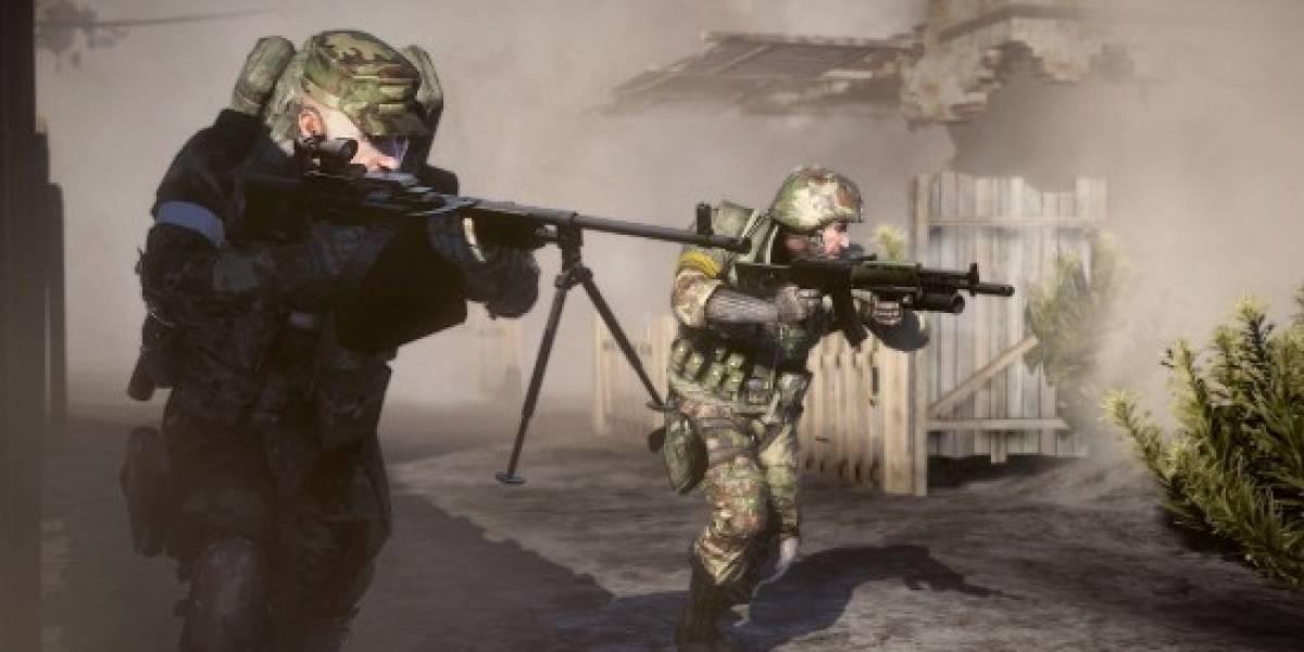 DICE no bloqueará las charlas de voz en Battlefield: Bad Company 2