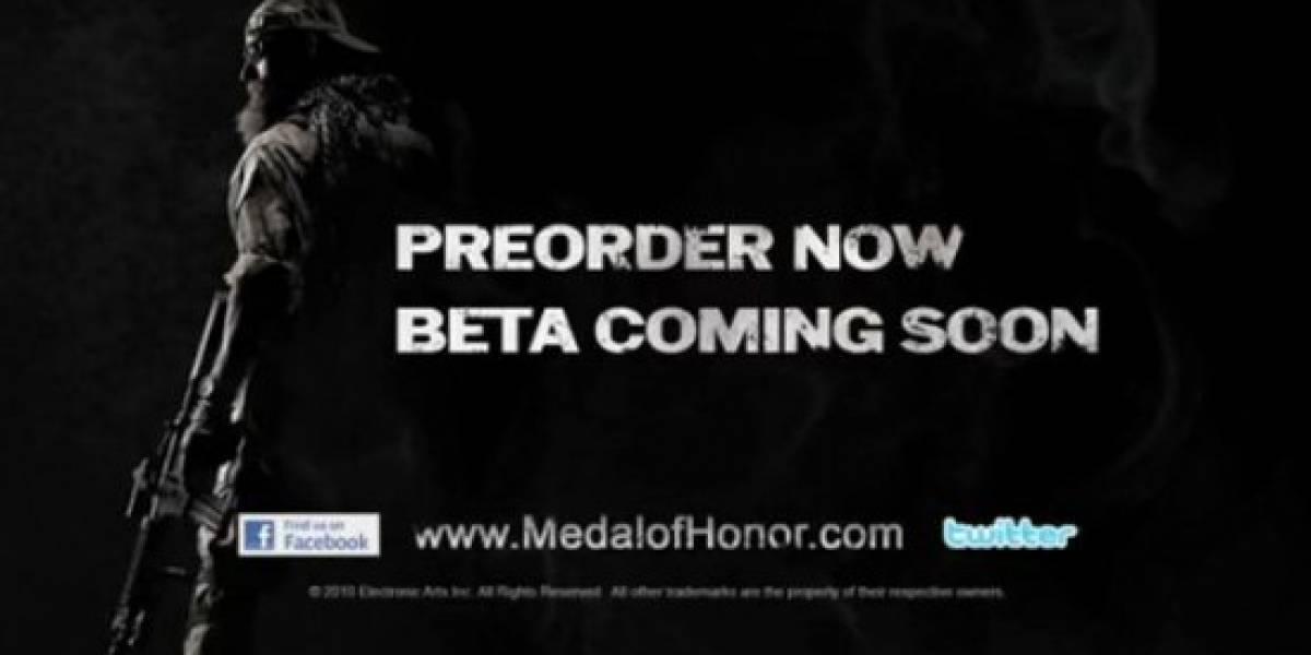 Medal of Honor tendrá beta multijugador