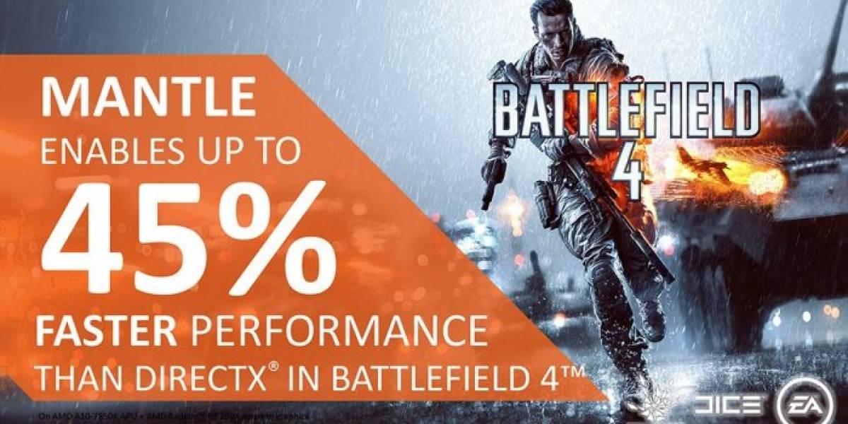 Próximo controlador gráfico de AMD arreglará fugas de memoria en Battlefield 4