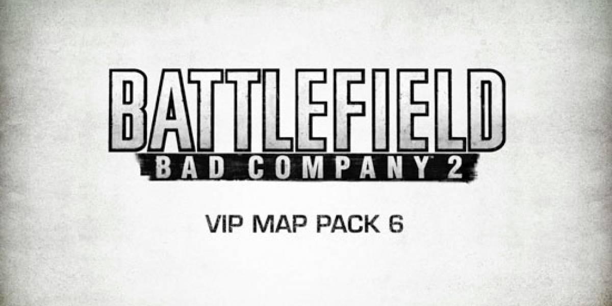 Sexto paquete de mapas VIP para Battlefield: Bad Company 2 a partir de hoy