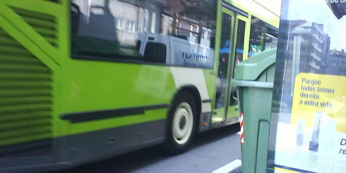 España: Conoce cuándo llegará el autobús haciendo una foto de la parada