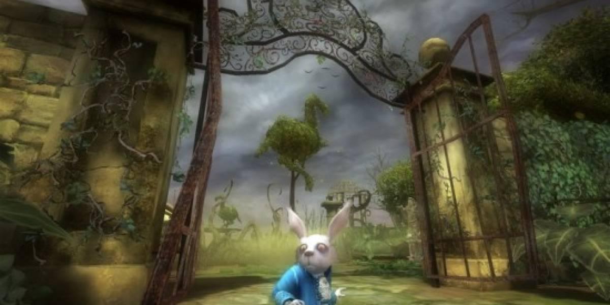 Alice in Wonderland de Tim Burton llegará a las consolas y PC