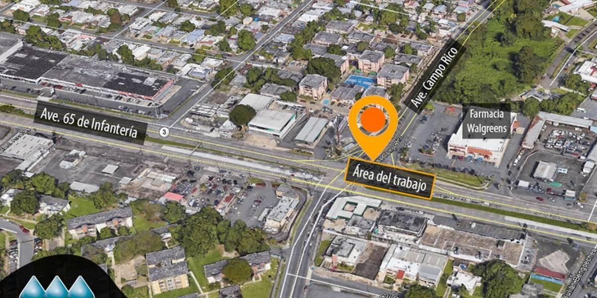 Trabajos de AAA afectarán tránsito en avenida Campo Rico
