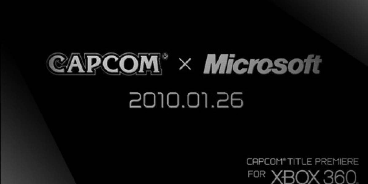 Capcom anunciará un nuevo juego vía XBox Live