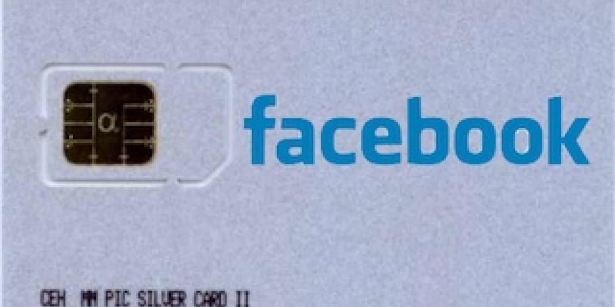 Facebook pronto vendrá en cada SIM Card
