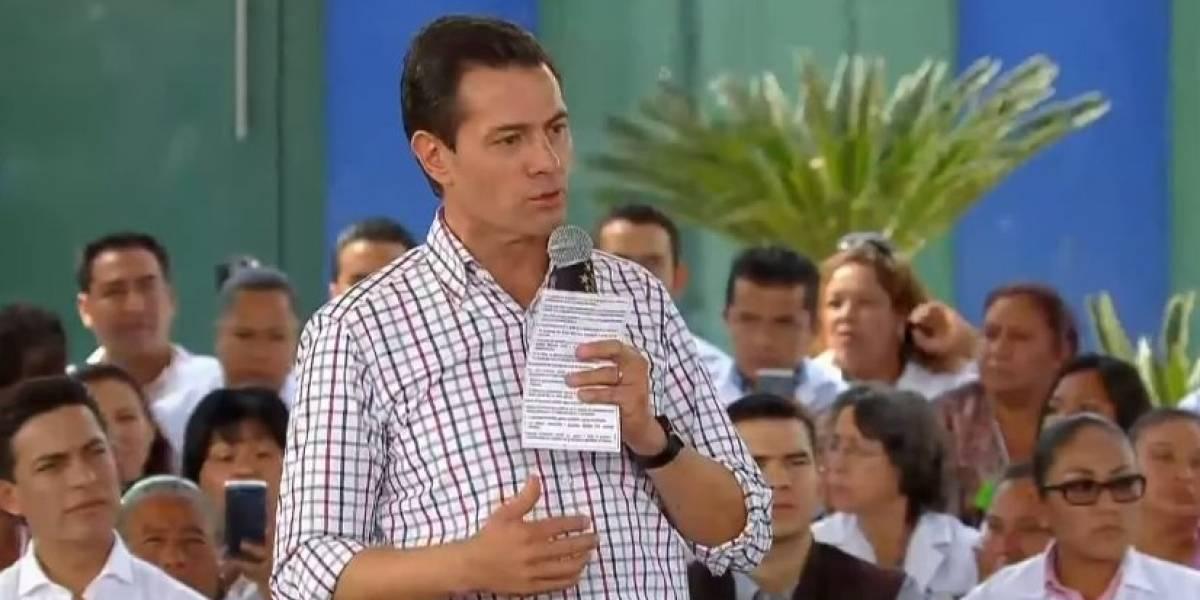 A cinco meses de los sismos, van 26 mil casas reconstruidas: Peña Nieto