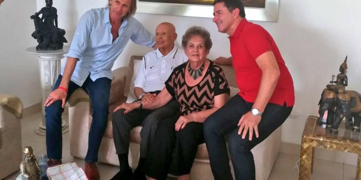 El encuentro de dos grandes: Ricardo Gareca y Gabriel Ochoa Uribe