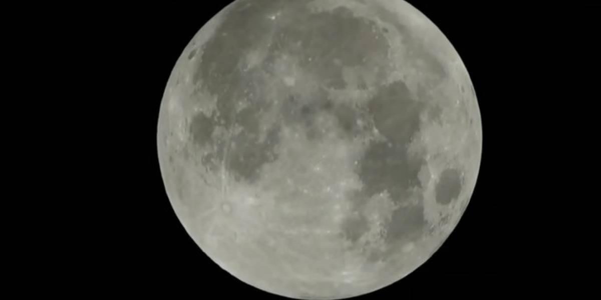 La verdad sobre el supuesto video de la 'superluna' del 31 de enero