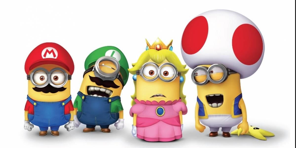 """Creadores de """"Los Minions"""" realizarán película de """"Mario Bros"""""""