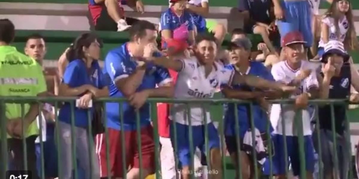 Nacional (URU) é processado após gesto de torcida em jogo com a Chapecoense