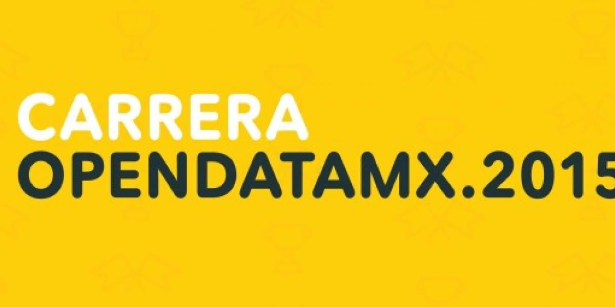 ¡Inicia la carrera por abrir los datos públicos de México!