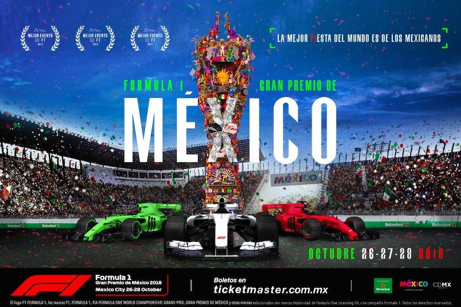 Cartel Gran Premio de México
