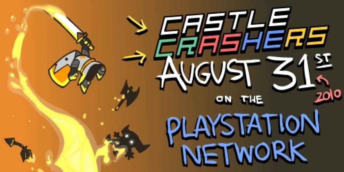 Castle Crashers ya tiene fecha en Playstation Network