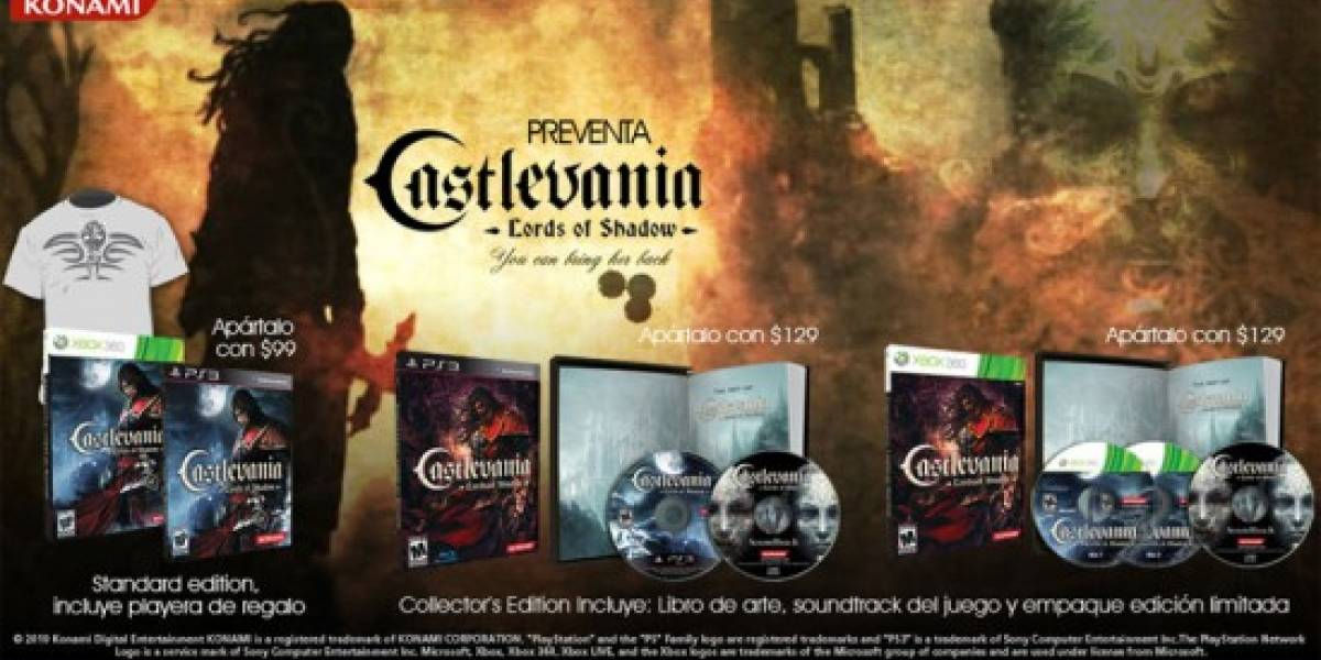 Instala el primer disco de Castlevania: Lords of Shadow en XBOX 360