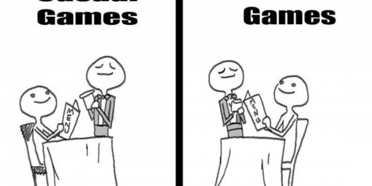 Juegos Casuales vs Juegos Hardcore