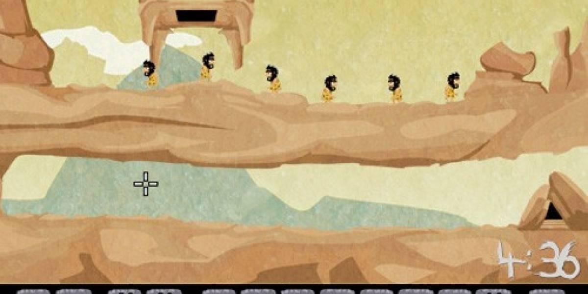 Llega un juego Lemmings estilo cavernícolas para iOS