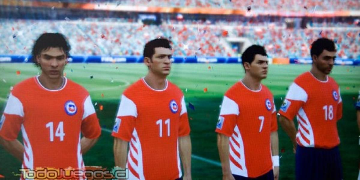 Hay esperanza: Chile podría tener su camiseta oficial en 2010 FIFA World Cup vía DLC