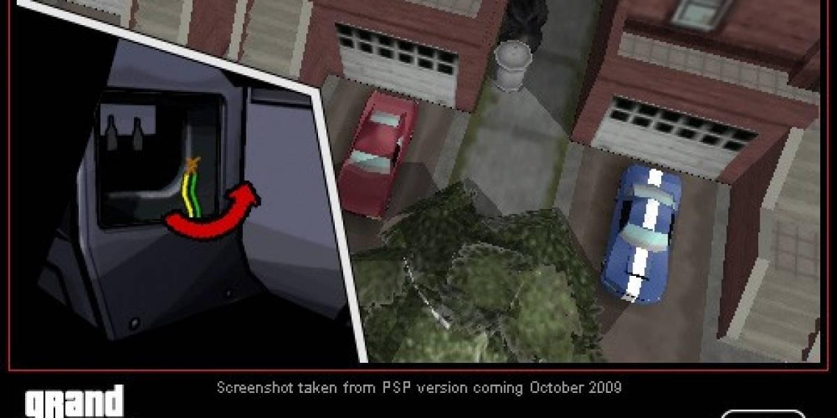 Los minijuegos de GTA: Chinatown Wars se adaptarán al PSP