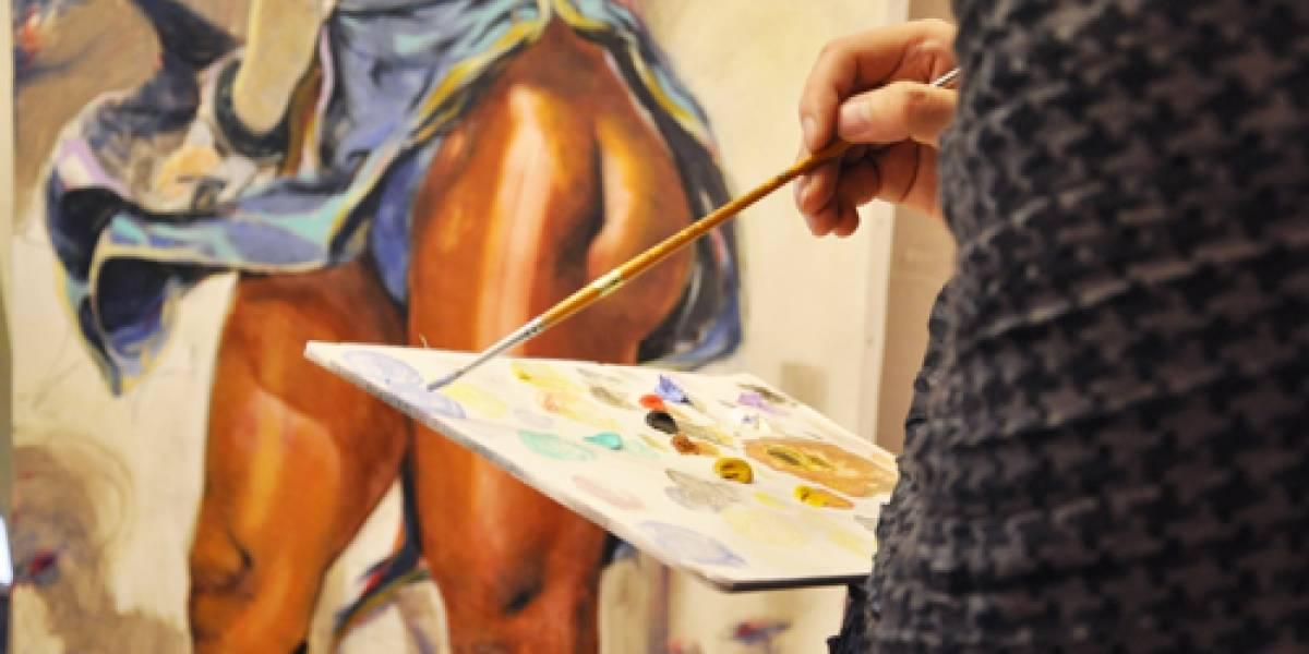 Chun-Li. De la pantalla al lienzo.