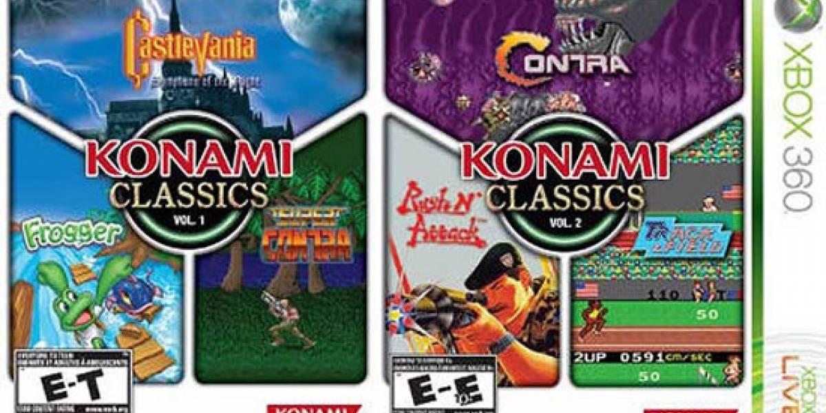 Konami venderá compilaciones de sus clásicos para Xbox 360