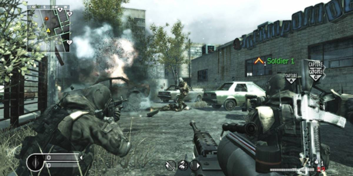 Call of Duty 4 de PS3 se ve afectado por hackers