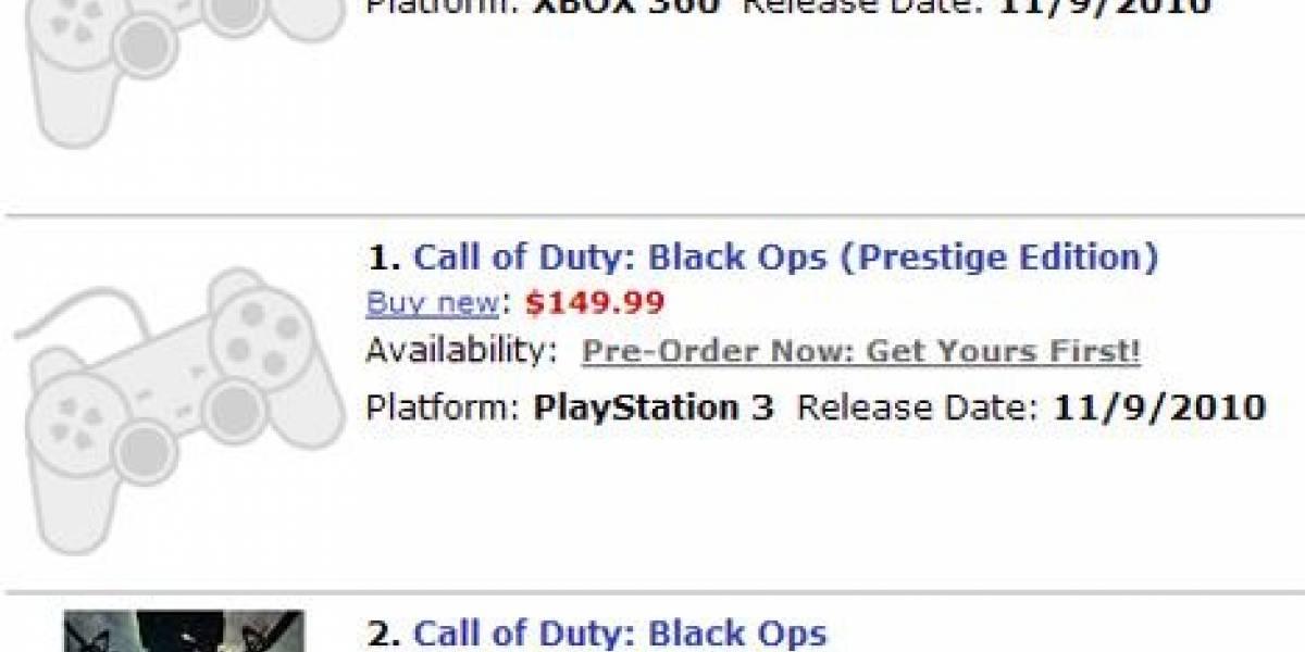 Futurología: Black Ops también tendría ediciones Hardened y Prestige