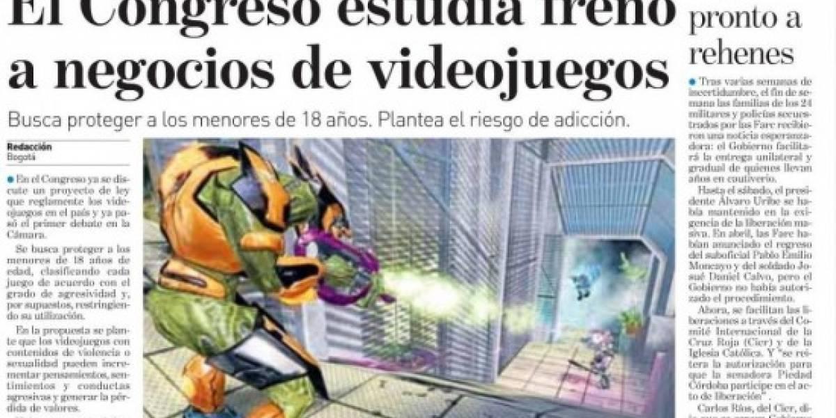 Colombia equipara a los juegos con las drogas