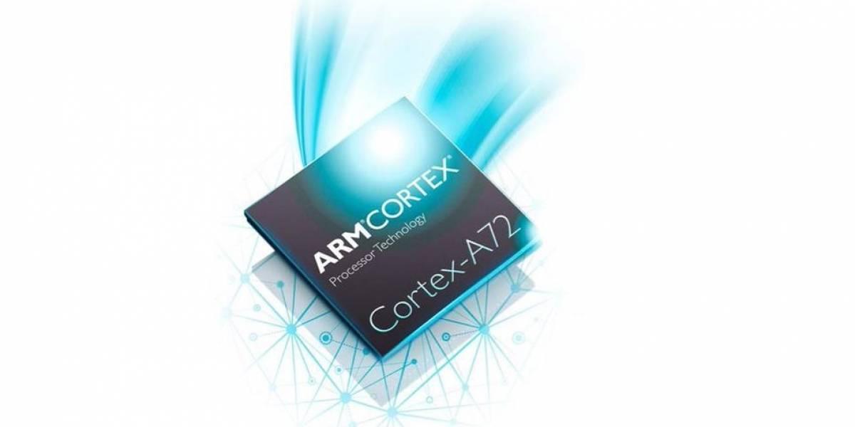 """ARM anuncia su microprocesador Cortex-A72 """"Maya"""""""