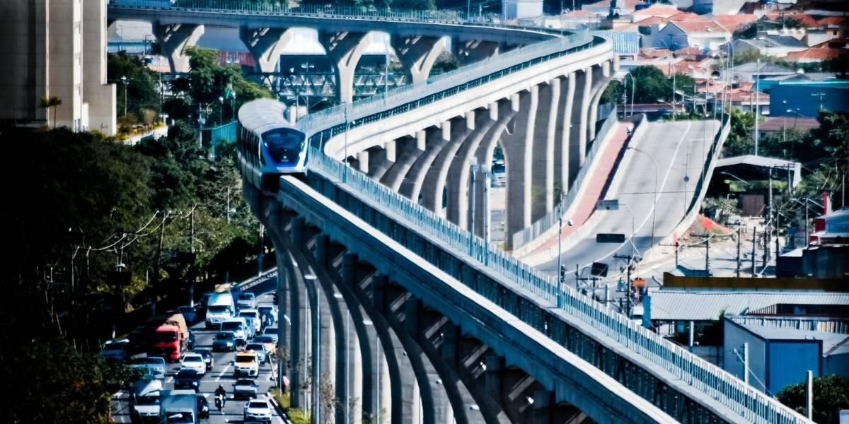 Monotrilho: Linha 15-Prata para até 14h no sábado e domingo para manutenção