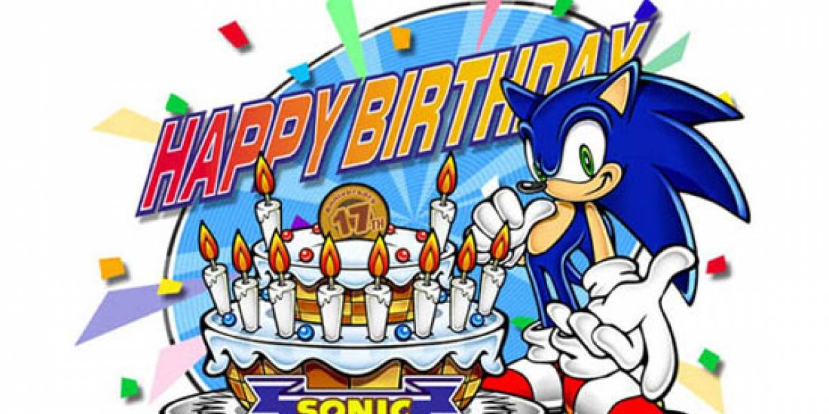 Feliz cumpleaños Sonic