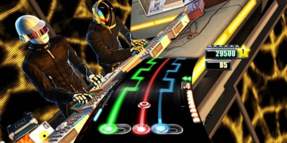 Así lucirá Daft Punk en DJ Hero