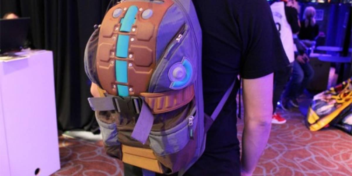 Yo también quiero esa mochila de Dead Space