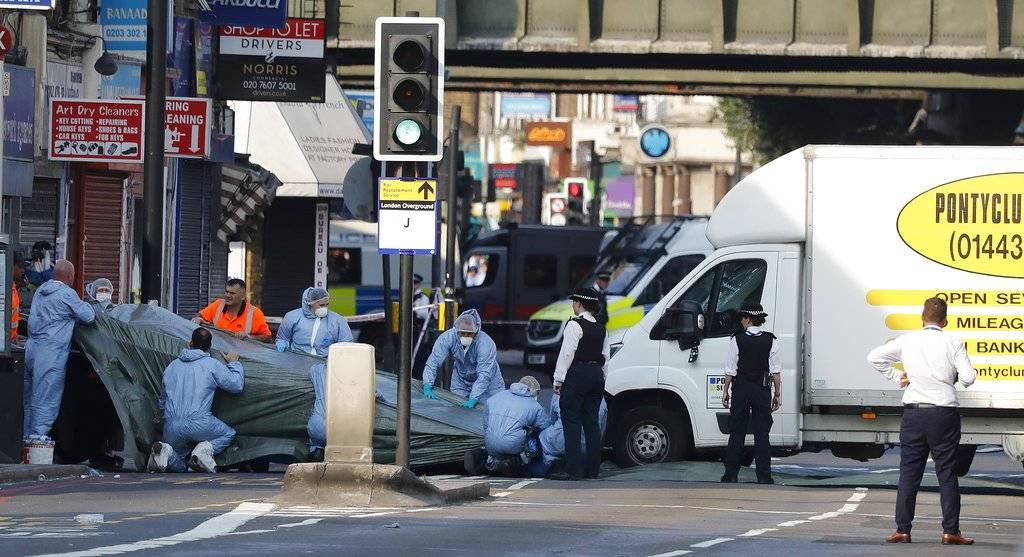 Atentado contra mezquita de Londres