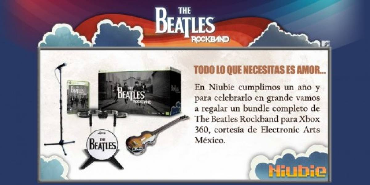 Concurso: The Beatles: Rock Band [NB Aniversario]