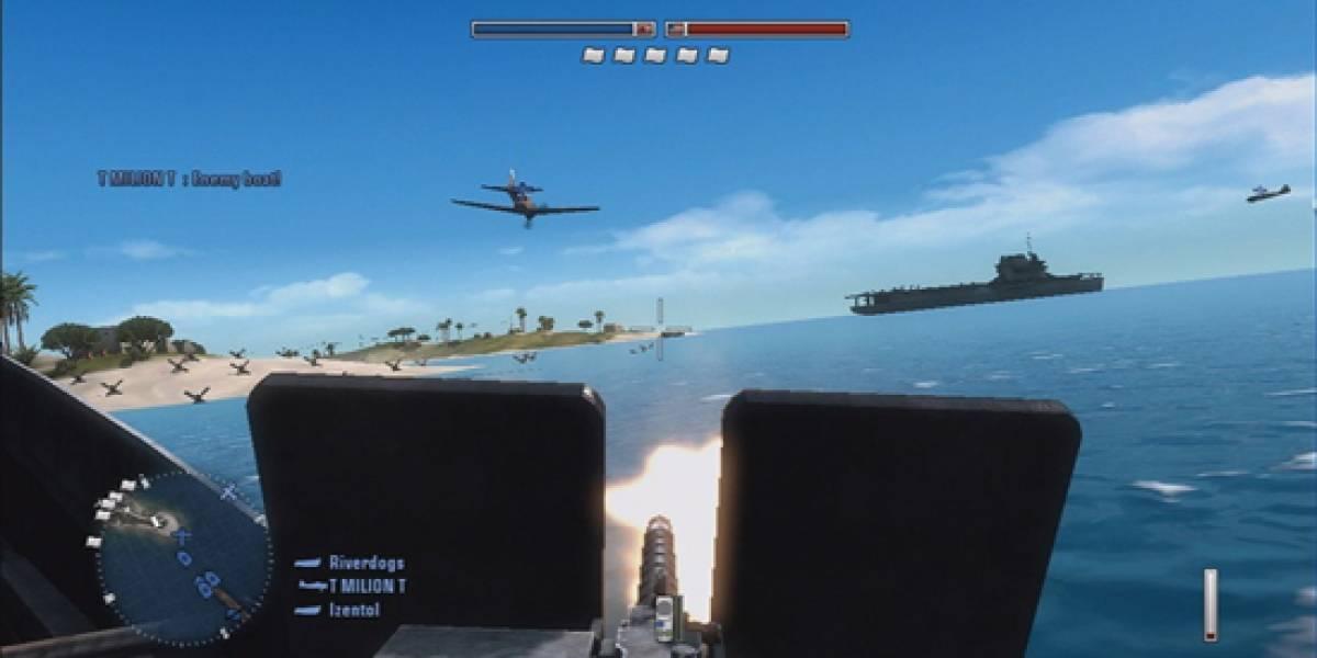 Battlefield 1943 un éxito en XBLA y pronto en PC