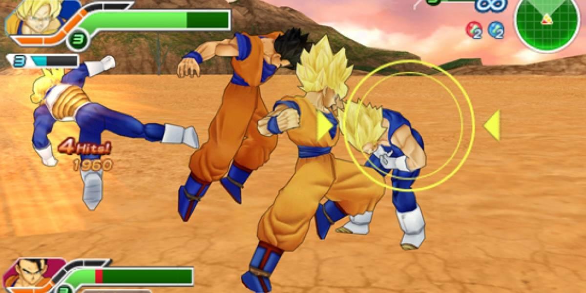 Dragon Ball Z Tenkaichi Tag Team para PSP Europa
