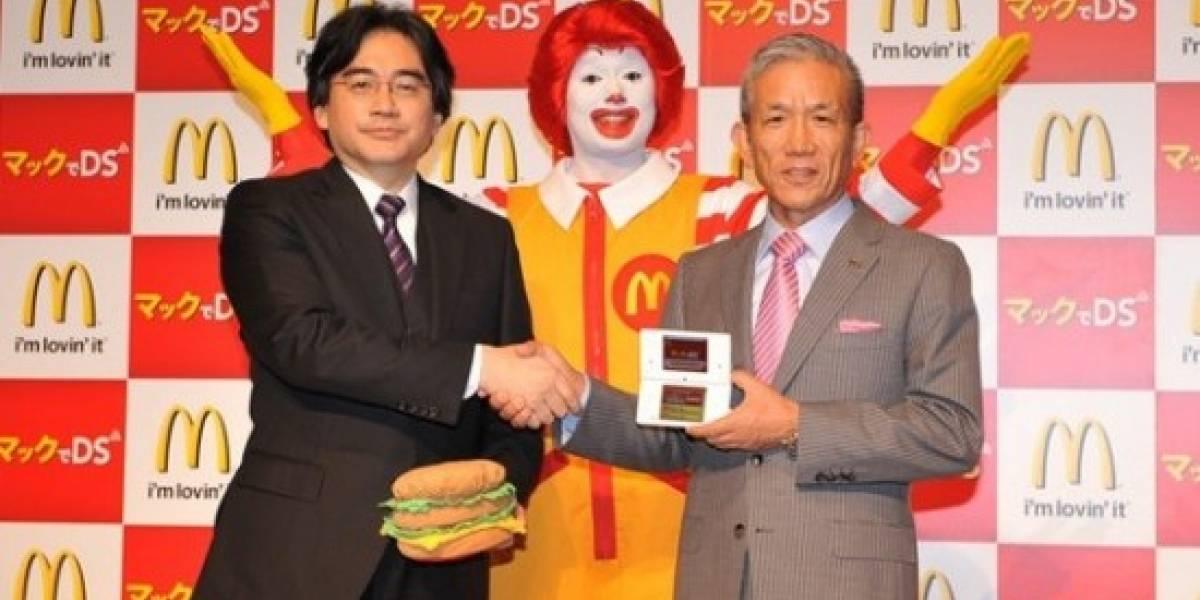 McDonalds entrenará empleados con Nintendo DS