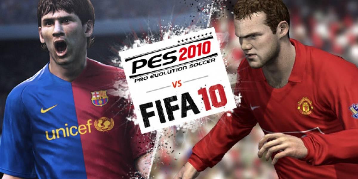 FIFA 10 versus PES 2010