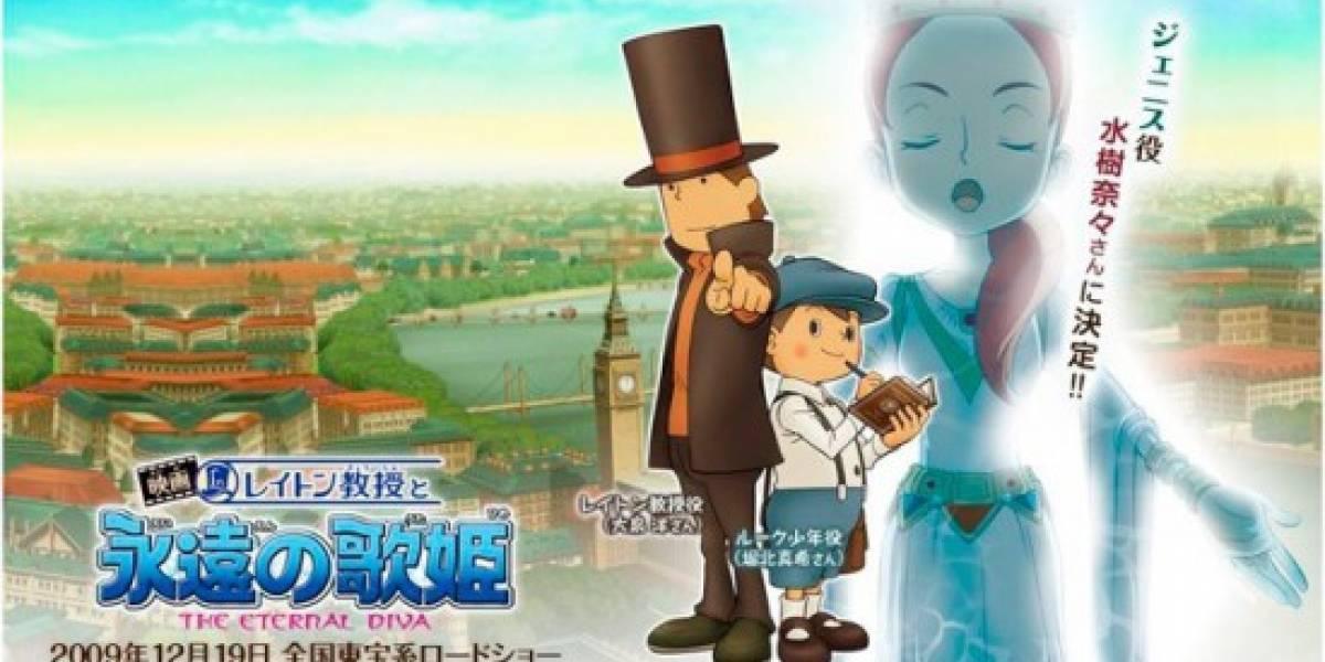 Anime de Professor Layton llegará en septiembre a occidente