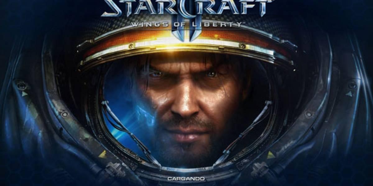 Las primeras horas de StarCraft II: Wings of Liberty