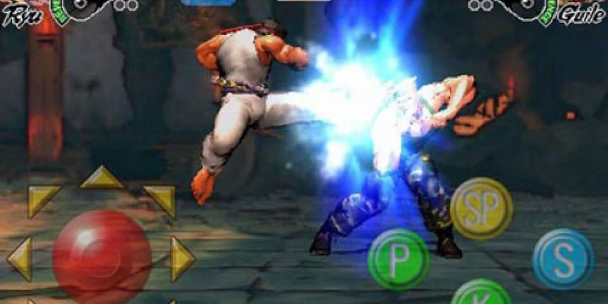 Ya está a la venta Street Fighter IV para iPhone e iPod Touch