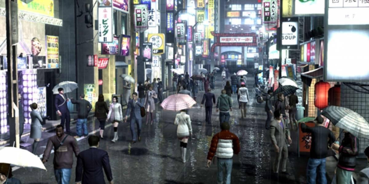 Yakuza entra en territorio PSP