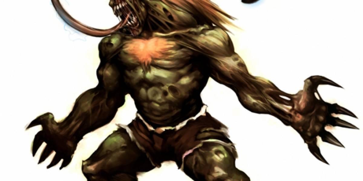 Si los personajes de Street Fighter fueran zombies