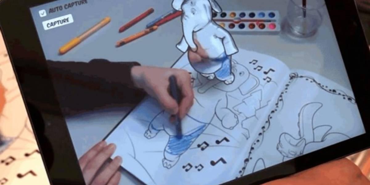 Disney reinventará el libro para colorear con Realidad Aumentada