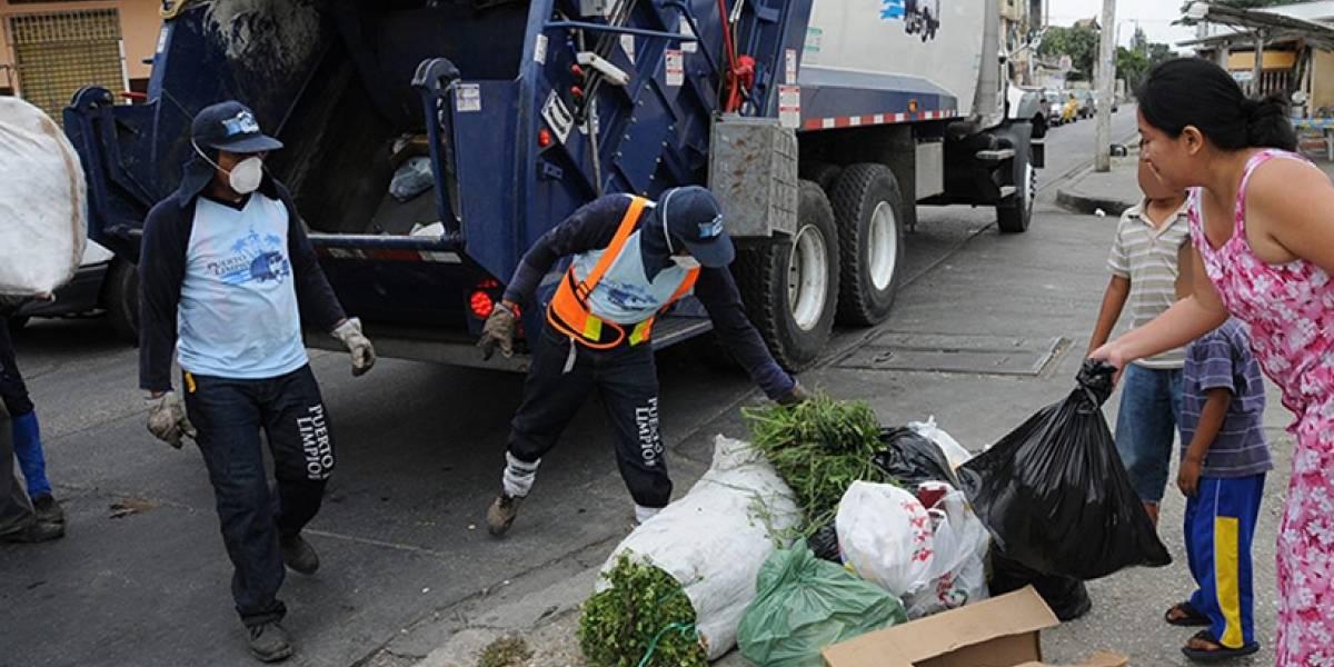 El 4 de febrero sí habrá recolección de basura en Guayaquil