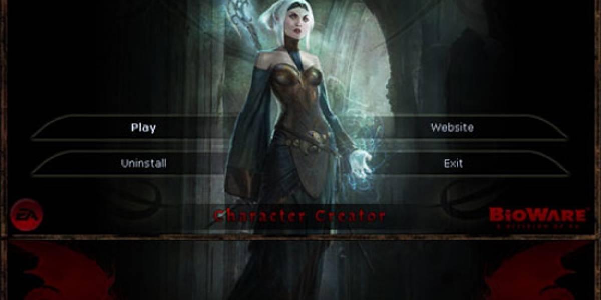 Ya puedes crear tu personaje para Dragon Age: Origins