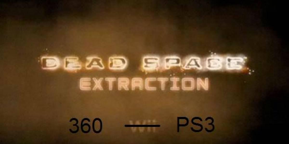 Futurología: Dead Space Extraction cada vez más cerca de PSN y XBLA