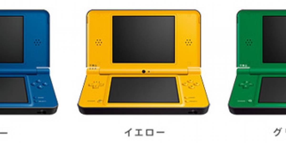 Nuevo precio y tres colores para la Nintendo DSi XL