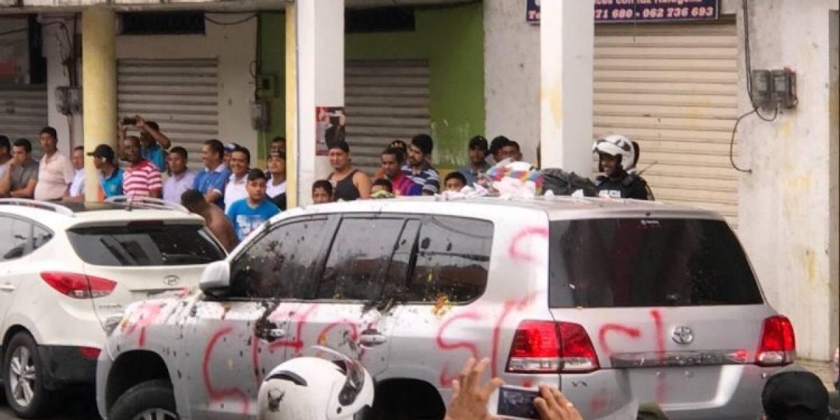 Rafael Correa habla de los agresores de Quinindé